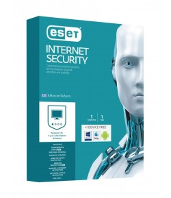 ESET Internet Security 1 Computer + 1 Device free, 1 year