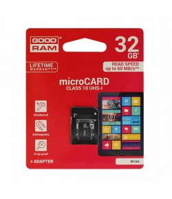 KARTA GOODRAM MICRO SD 32GB Z ADAPTEREM UHS I CLASS 10