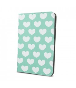 Universal case PasteLOVE mint for tablet 7-8``