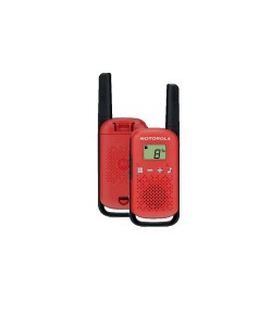 Motorola Talkabout T42 twin-pack red