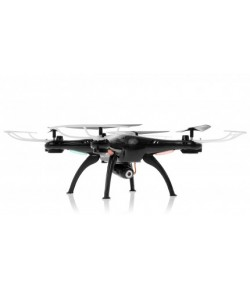 Syma: Syma X5SW Explorers 2 2.4GHz (WiFi FPV, 0.3MP camera, headless mode, range up to 30m) - Black