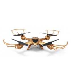 MJX: MJX X401H RTF (FPV 0.3MP camera, 2.4GHz 4CH, gyroscope, barometer, auto take-off&landing) - Gold