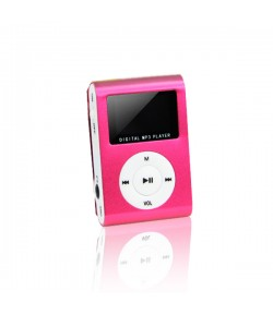 MP3 with LCD + earphones SETTY red