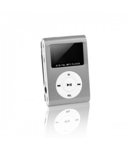 MP3 with LCD + earphones SETTY silver