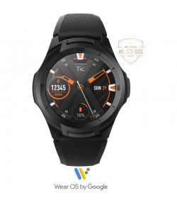 Ticwatch S2 Smartwatch Midnight Black, Google Wear Smartwatch