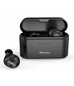 HIFUTURE earphones TidyBuds Pro, power bank, με θήκη φόρτισης, μαύρα