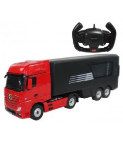 Mercedes-Benz Actros with load truck 1:26 2.4GHz RTR (AA powered) - red
