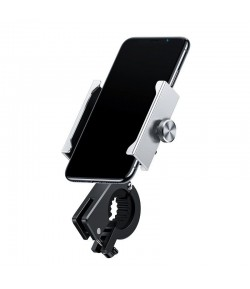 Baseus Knight Motorcycle holder (Applicable for bicycle) Silver
