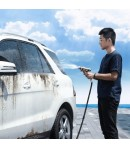 Baseus Simple Life Car Wash Spray Nozzle (with Magic Telescopic Water Pipe) 15m after water filling Black