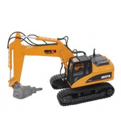 Huina (H-Toys): Tracked Excavator with Breaker, Alloy 1:14 16CH 2.4GHz RTR