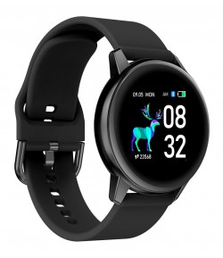 "HIFUTURE smartwatch HiMATE, 1.4\"", IP68, heart rate monitor, μαύρο"