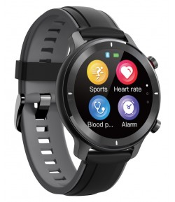 "HIFUTURE smartwatch HiWAVE, 1.3\"", IP68, heart rate monitor, μαύρο"