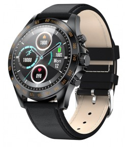 "HIFUTURE smartwatch HiGEAR, 1.3\"", IP68, heart rate monitor, μαύρο"