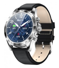 "HIFUTURE smartwatch HiGEAR, 1.3\"", IP68, heart rate monitor, ασημί"