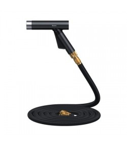 Baseus Simple Life Car Wash Spray Nozzle (with Magic Telescopic Water Pipe) 30m after water filling Black