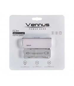 VENNUS Power Bank 2600mAh DL511 WHITE